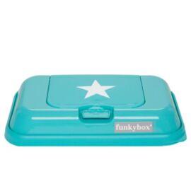 Boite à lingettes Funky Box Go Turquoise - Etoile