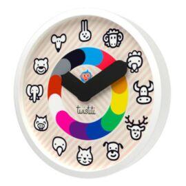 Horloge Twistiti cadran Animaux