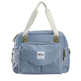 "Sac Geneve II ""PLAY PRINT"" blue"