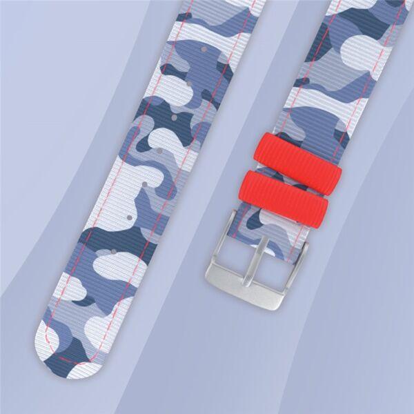 Bracelet montre Camouflage bleu Twistiti