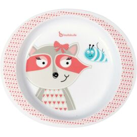 Assiette Micro-ondes - Fille - Pink racoon