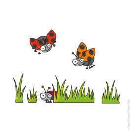 Stickers S Coccinelles