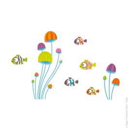 Stickers S Minis poissons