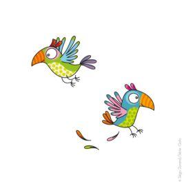 Stickers S Les perroquets
