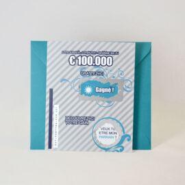 Carte Loterie parrain