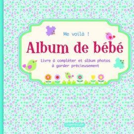 Album de bébé Me voilà Bleu