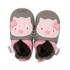 Bobux Soft soles Grey Kitten