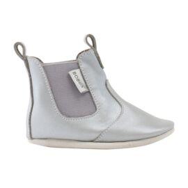 Bobux Soft soles silver jodphur boot
