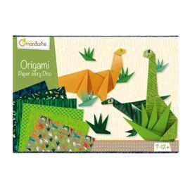 Boite créative, Origami Dinosaures