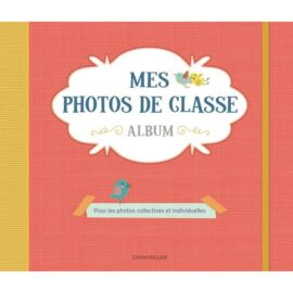 Album mes photos de classe Rouge