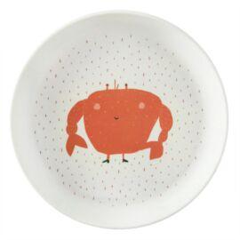 Assiette Mrs. Crab
