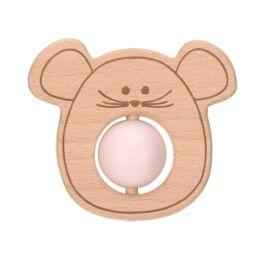 Hochet de dentition Little Chums mouse