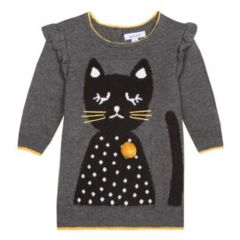 ROBE TRICOT LIGNE 3 PETITS CHATS Absorba