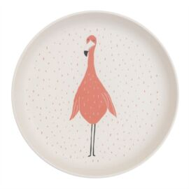 Assiette Mrs. Flamingo