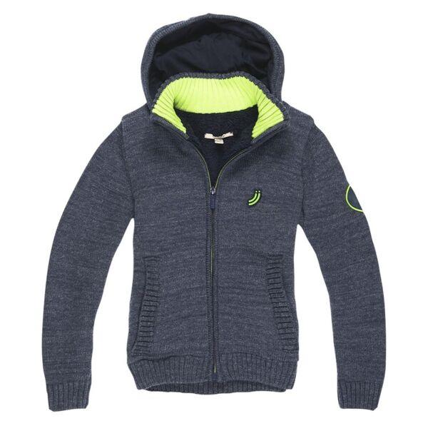 Cardigan knit zippé capuche JnJoy