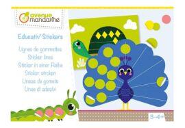 Boîte créative Educativ' Stickers - Lignes de gommettes
