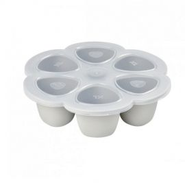 Multiportions silicone 6 x 150 ml gris brume