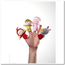 86339 Marionnettes à Doigts Chaperon Rouge Handa Bd