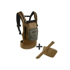 Pack Evolution 0 36 Physiocarrier Safari Poche Olive Fonce
