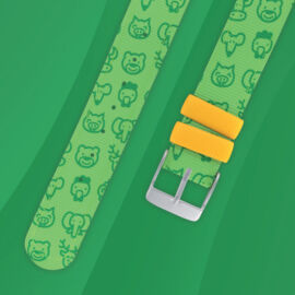 bracelet twistiti green ws14