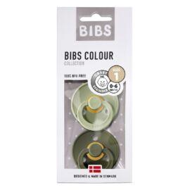 [110212] pack x2 bibs colour t1 (vert sauge kaki)