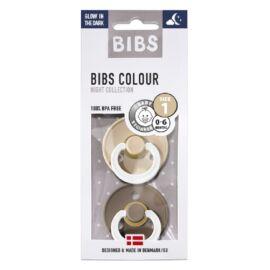 [110244] pack x2 bibs colour t1 (chene night vanille night)